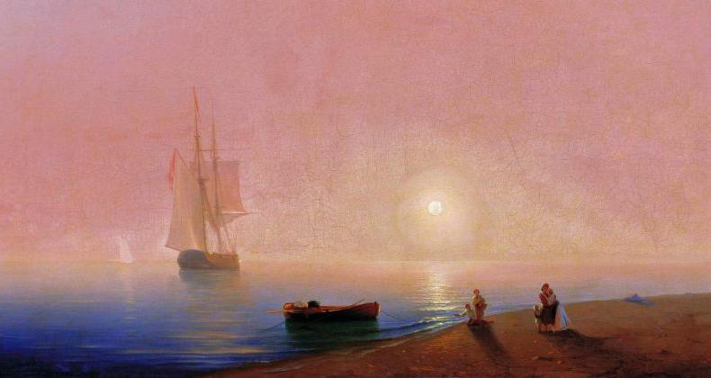 Иван Константинович Айвазовский – Прощание 1869