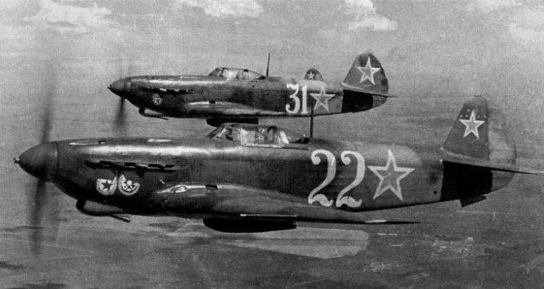 Лётчики Великой Отечественной Войны
