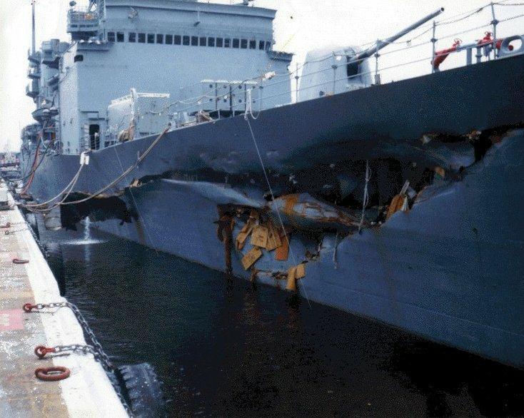 Невзирая на повреждения корабля.